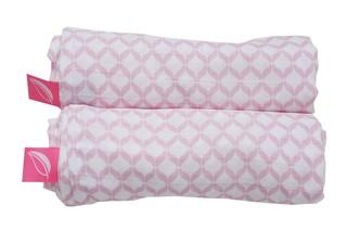 Mušelínové Premium pleny - Classics růžové