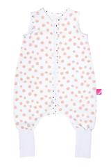 Spací pytel Motherhood s nohavicemi 1,5-2,5 r. - růžové tečky