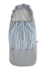 Softshellový fusak - modré proužky