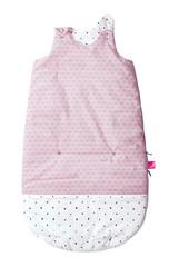 Spací pytel Motherhood Zip-a-Round 2v1 - růžový Claccics