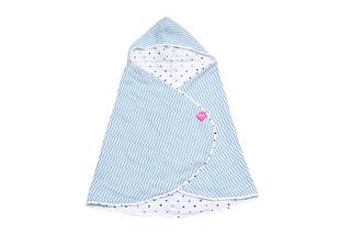 Dětská osuška Motherhood - modré proužky
