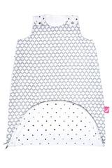 Letní spací pytel Motherhood Zip-a-Round - šedý Classics