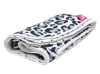 Mušelínová deka Motherhood - tmavě modrý ocelot