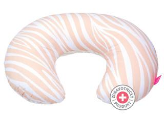 Kojicí polštář Motherhood - růžová zebra
