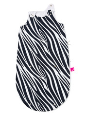 Letní spací pytel Motherhood Zip-a-Round - tmavě modrá zebra