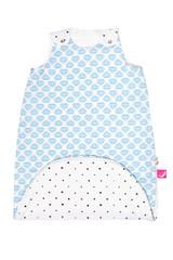 Letní spací pytel Motherhood Zip-a-Round - modré lodičky