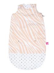 Spací pytel Motherhood Zip-a-Round 2v1 - růžová zebra