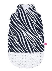 Spací pytel Motherhood Zip-a-Round 2v1 - tmavě modrá zebra