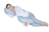 Těhotenský polštář Motherhood - Classics modrý