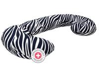 Těhotenský polštář Motherhood - modrá zebra