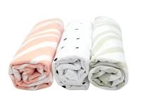 Bavlněné pleny Motherhood - růžová zebra